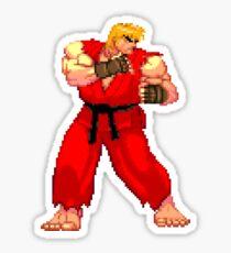 Street Fighter Third Strike - Ken Masters Sticker