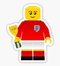 England World Cup 1966 Minifig Sticker