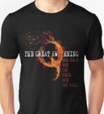 QAnon Storm The Great Awakening WWG1WGA by Scralandore Unisex T-Shirt