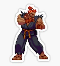 Street Fighter Third Strike - Akuma Sticker