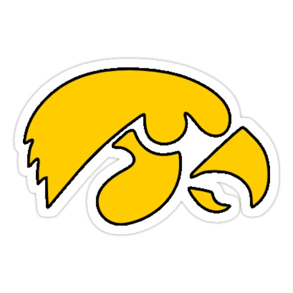Iowa Hawkeye Sticker