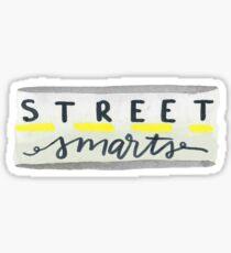 Street Smarts - John Mulaney Sticker