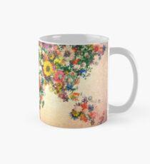 world map floral 4 Classic Mug