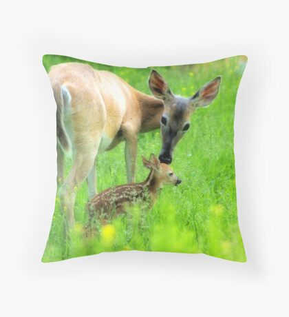 Kisses Throw Pillow
