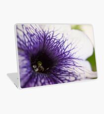 Purple-veined Petunia Laptop Skin