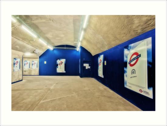 Bond Street Tube Station by AntSmith