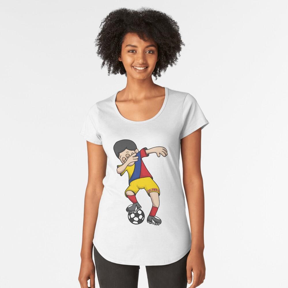 b594b6896 Colombia Football Dabbing Soccer Boy With National Flag Jersey Futbol Fan  Shirt by BzarDesigns