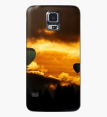 Hot Air Balloons Through the Clouds Case/Skin for Samsung Galaxy