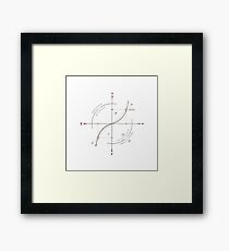 Primary Reference Frame Framed Print