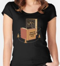 Evil Learning Women's Fitted Scoop T-Shirt