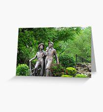 Huck Finn and Tom Sawyer Greeting Card