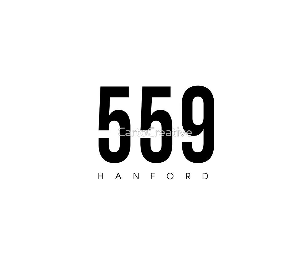 Hanford area code
