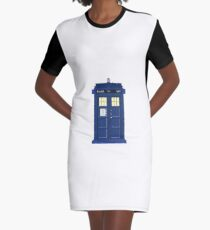 Police (time)box Graphic T-Shirt Dress