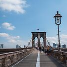 Brooklyn Bridge, New York City by Michelle McConnell