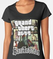 GTA SAN ANDREAS Women's Premium T-Shirt