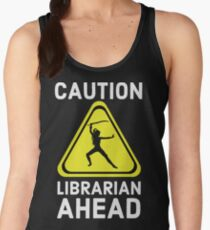Where my librarians at? Time for ALA Library Information Science Swag Women's Tank Top