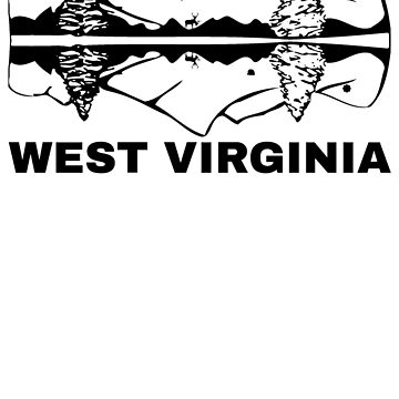 West Virginia by dopefish