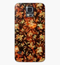 Gryphon Batik - Earth Tones Case/Skin for Samsung Galaxy