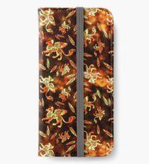 Gryphon Batik - Earth Tones iPhone Wallet/Case/Skin