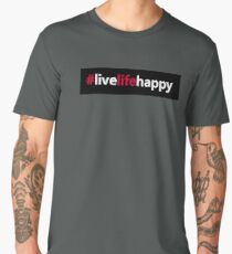 #livelifehappy Men's Premium T-Shirt