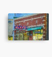 Drink Blatz Beer Canvas Print