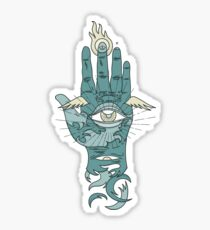Sacred Hand Sticker