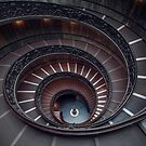 Vatican Double Helix Staircase by jswolfphoto