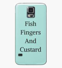 Fish Fingers And Custard Case/Skin for Samsung Galaxy