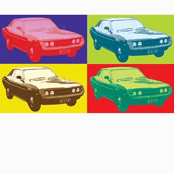 Celica TA22 pop art style by neroli