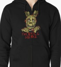 Five Nights At Freddy's Springtrap Zipped Hoodie