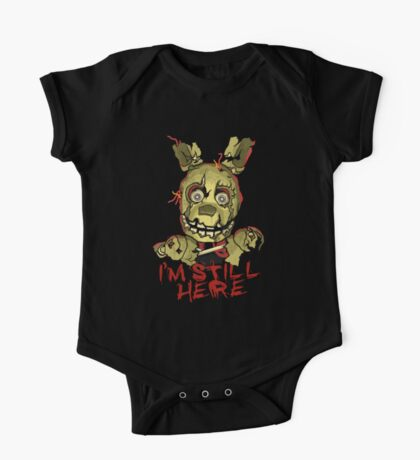 Five Nights At Freddy's Springtrap One Piece - Short Sleeve