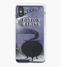 advanced potions book iPhone Case