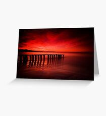 Victor Harbor Dawn Greeting Card