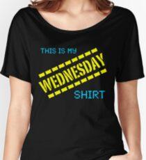 My Wednesday Shirt Women's Relaxed Fit T-Shirt