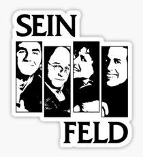 Black Flag / Seinfeld Tee Sticker