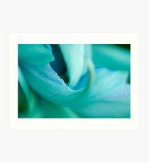 Jade Vine Flower Art Print