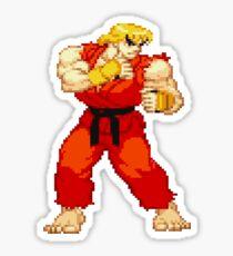 Street Fighter Alpha - Ken Sticker