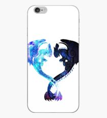 Dragon Heart (Toothless and Light Fury) iPhone Case
