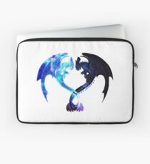 Dragon Heart (Toothless and Light Fury) Laptop Sleeve