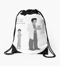 """She is a failed experiment"" Drawstring Bag"