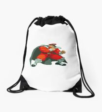 Street Fighter Alpha - M. Bison Drawstring Bag