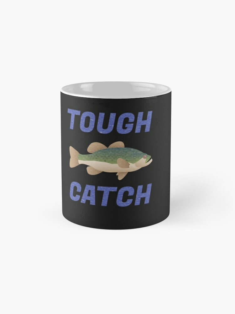 Alternative Ansicht von LUSTIGE FORELLE TOUGH CATCH Tassen