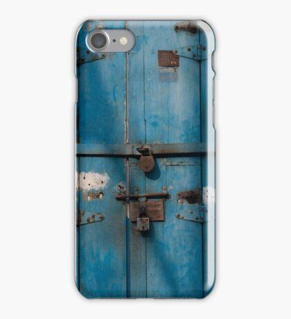 Blue door, Cochin iPhone Case/Skin