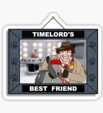 Timelord's Best Friend (Color) Sticker