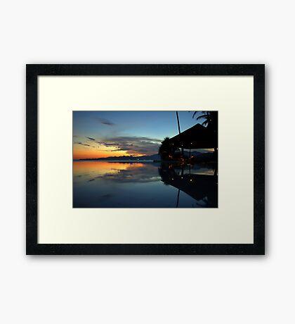Bali Bliss Framed Print