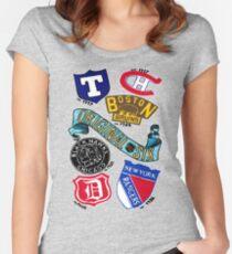 Original Six Women's Fitted Scoop T-Shirt
