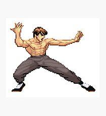 Street Fighter Alpha - Fei Long Photographic Print