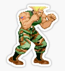 Street Fighter Alpha - Guile Sticker
