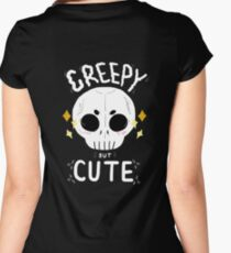 Creepy but cute Women's Fitted Scoop T-Shirt