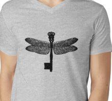 The Dragonfly Key Mens V-Neck T-Shirt